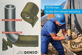DENSO tape, today as it was almost 100 years ago.