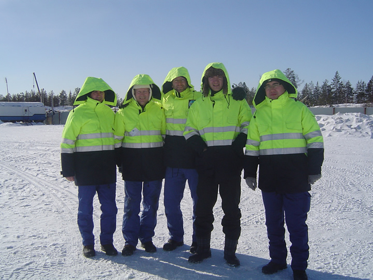 En el frío glacial siberiano