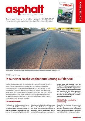 Sonderdruck asphalt