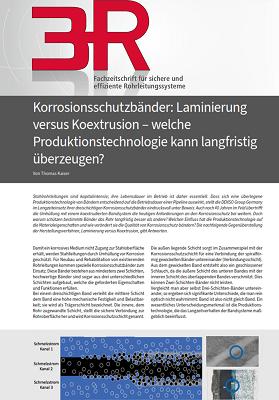 3R - Korrosionsschutzbänder: Laminierung vs. Koextrusion