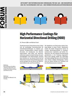 Forum Gas Wasser Wärme – High Performance Coatings für Horizontal Directional Drilling