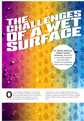 World Pipelines – The challenges of a wet surface