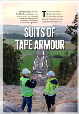World Pipelines – Suits of tape armour