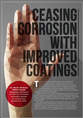 World Pipelines – Ceasing corrosion with improved coatings